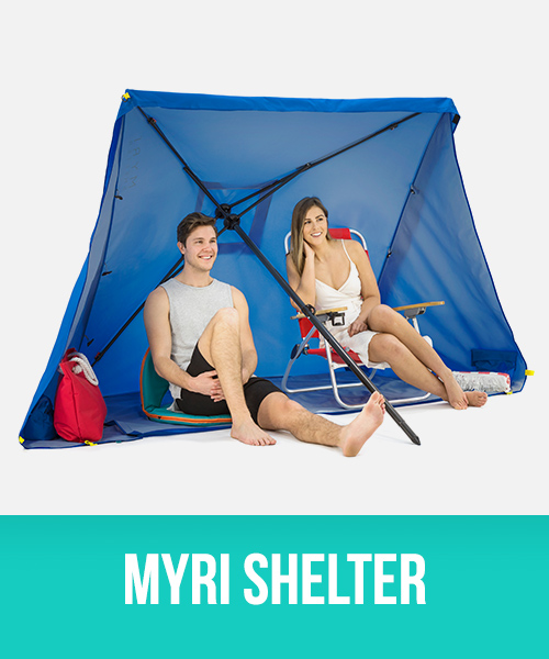 Myri 3 in 1 sun shelter, gazebo and umbrella