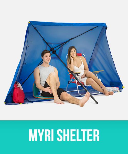 Myri 3 in 1 sun shelter, gazebo and umbrella